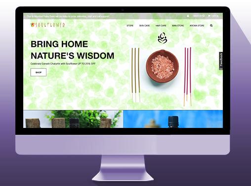 Soulflower Wordpress Website