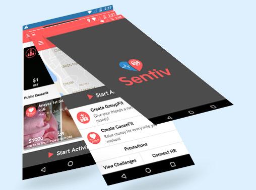 Sentiv Mobile App