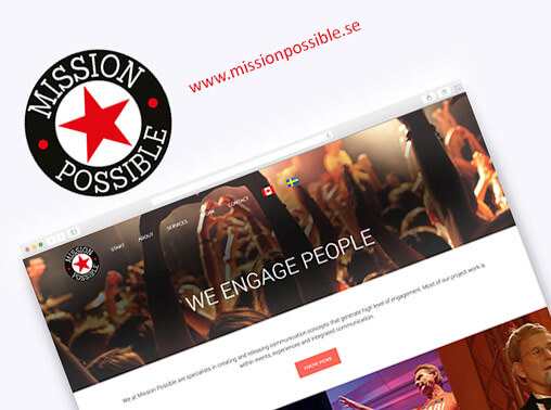 Mission Possible Wordpress Website