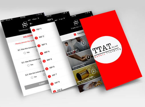 TTAT mobile app design and development