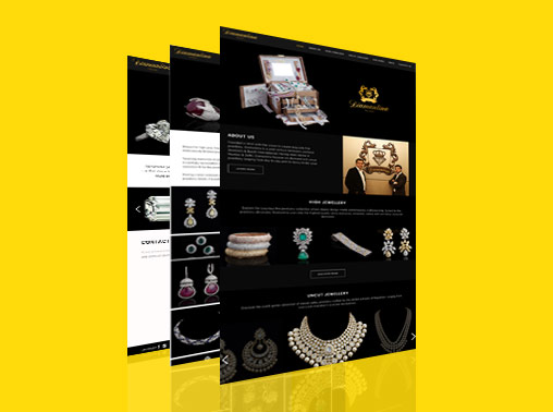 Diamantina Wordpress Website for Jewellery Store