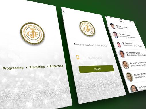 GJF mobile app